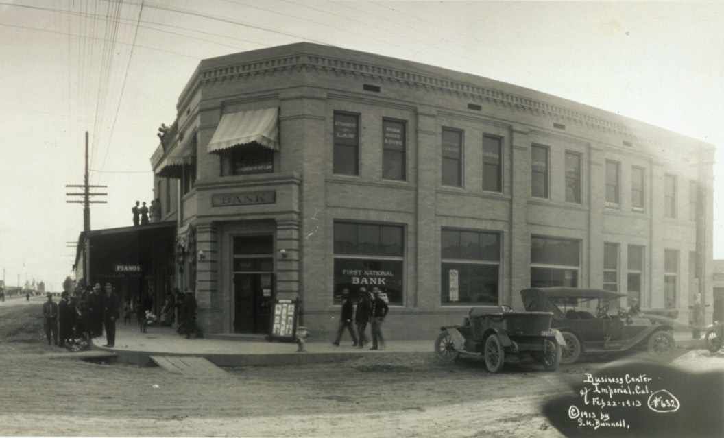 Business Center of Imperial circa 1913