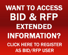 Subscribe for RFP BID Updates