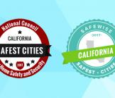 #1 Safest City in California
