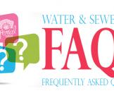 Water & Sewer Rate FAQ's