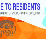 Notice to Residents Public Hearing on Water & Sewer Rates